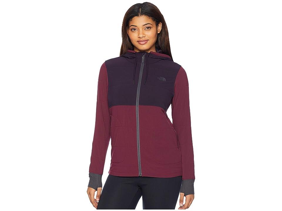 The North Face Mountain Full Zip Sweatshirt (Fig/Galaxy Purple) Women