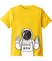 Stella McCartney Kids - Spaceman Short Sleeve T-Shirt (Toddler/Little Kids/Big Kids)