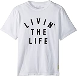 The Original Retro Brand Kids - Livin' The Life Vintage Cotton Tee (Big Kids)