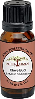 All Naturals All Naturals Clove Essential Oil 15ML 100% Pure For Toothaches, Joints Pain, Spirituality, Beauty & Focus