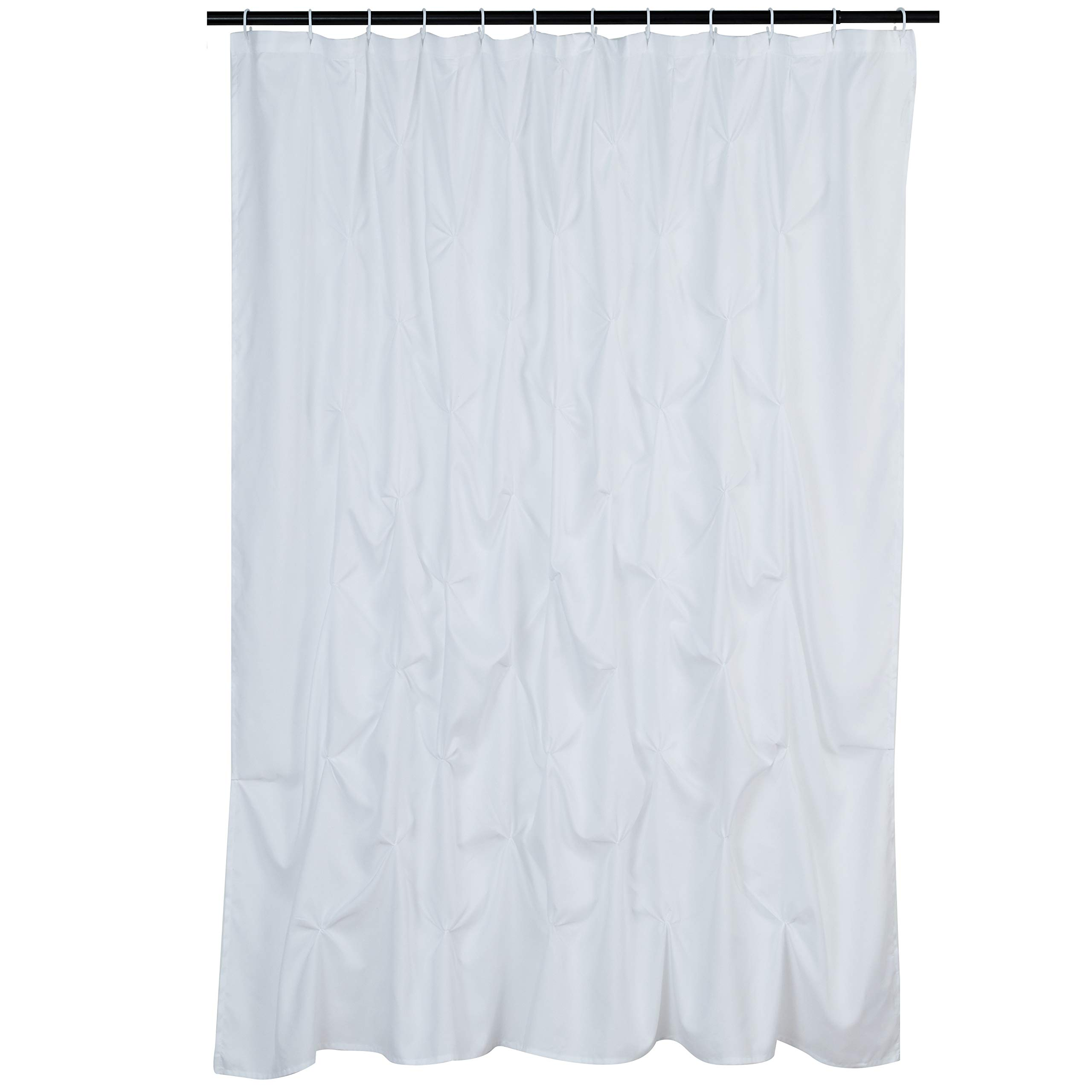 """new jack daniels white shower curtain 60/""""x 72/"""" one sides with 12 holes"""