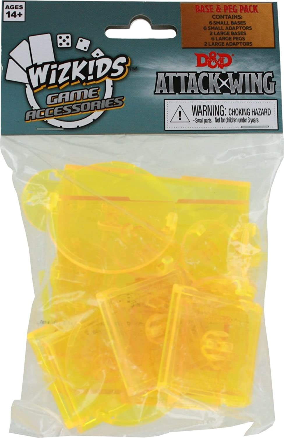 D & d Attack Wing Faction Base Set  Yellow Wizkids Wzk71685 In Box