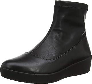 FitFlop Women's Olivia Sock Bootie Faux Leather