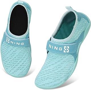 Torotto Kids-water Shoes-Toddler-Swim-Shoes-Pool -Shoes خفيفة الوزن-أحذية رياضية ذات قدمين غير قابلة للانزلاق جوارب مائية ...