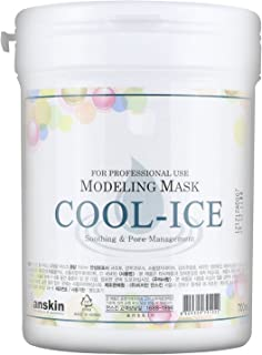 Modeling Mask Powder Pack Cool Ice for Soothing and Pore Management by Anskin, 240 g