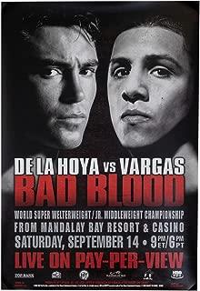 Title Boxing De La Hoya Vs Vargas Poster, 14