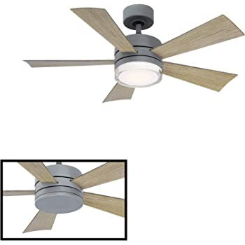 Ceiling Fans Tools Home Improvement Fanimation Fp8003bdz Benito V2 52 Inch Dz With Led Light Kit