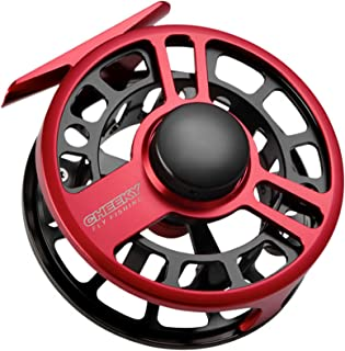Cheeky Fishing, Boost 350 Fly Fishing Reel, 5-6lb Line Weight, Red/Black