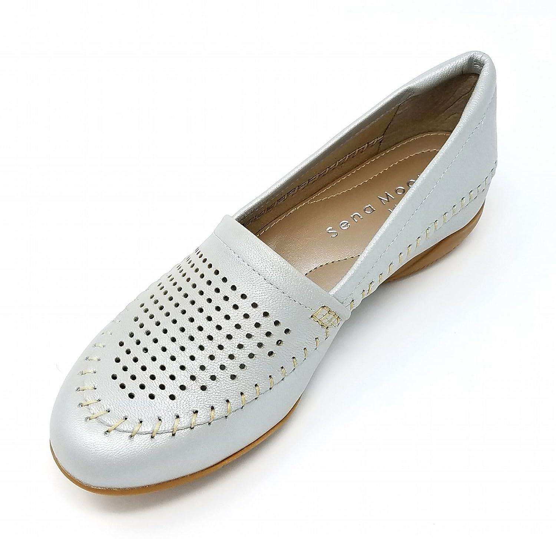 [sena moon idea] 婦人靴 本革 パンプス 2528