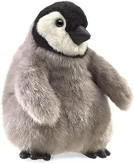 Folkmanis Baby Emperor Penguin Hand Puppet