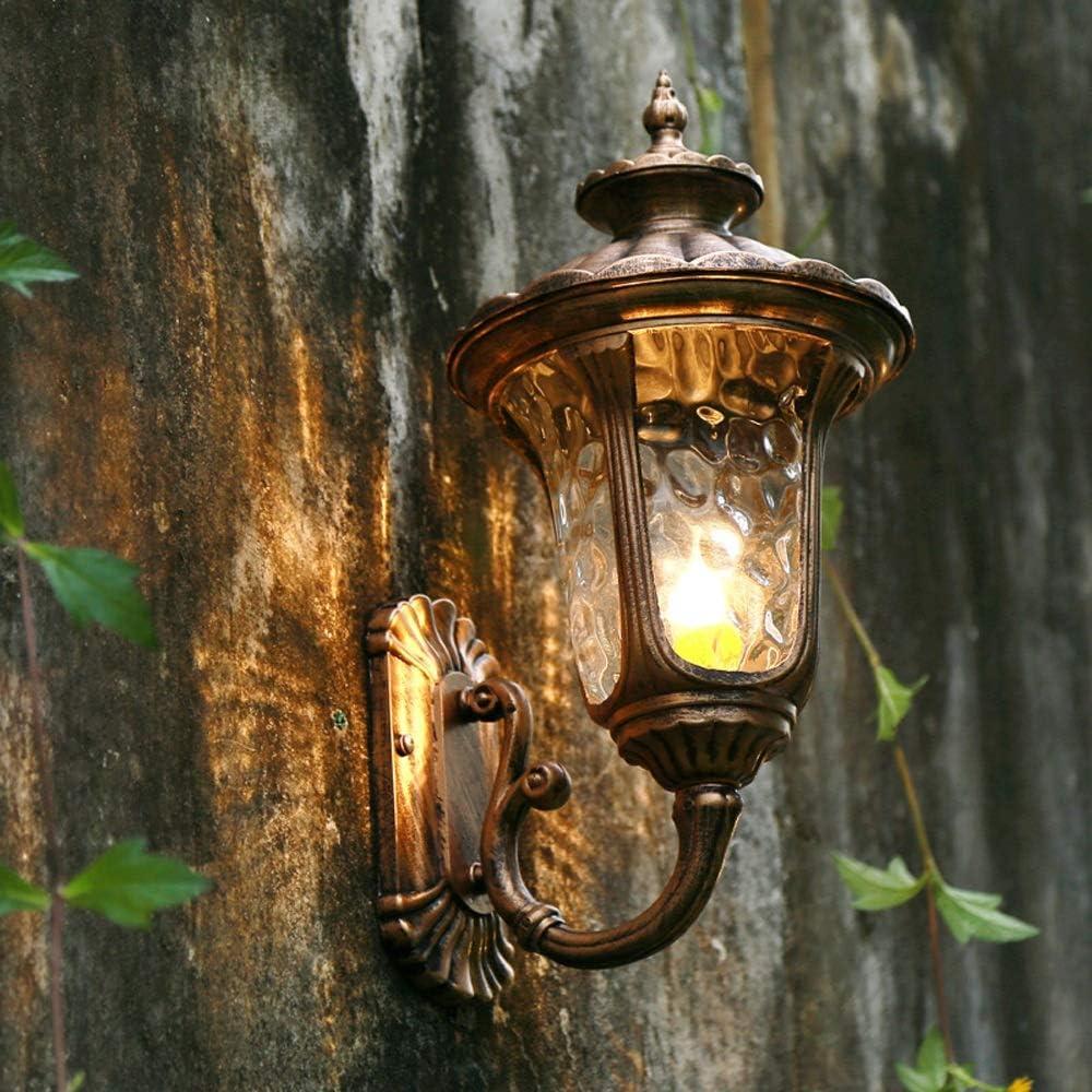 Traditional Victorian Up Outdoor Waterproof Vintage Wall Lamp European E27 Aluminum Exterior Moisture Proof Wall Sconce Lantern American Villa Aisle Garden Patio Rainproof Wall Lights Amazon Co Uk Lighting