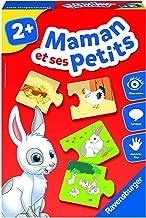 Ravensburger- Jeu Educatif- Maman et ses petits- Découverte des animaux- A partir de 2 ans- 24023