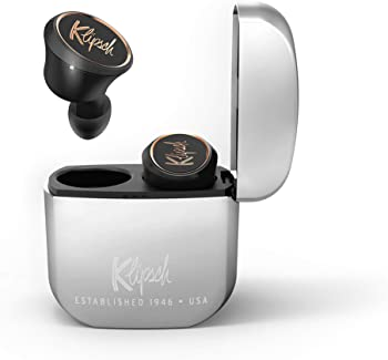 Klipsch T5 True Wireless Earbuds With Charging Case