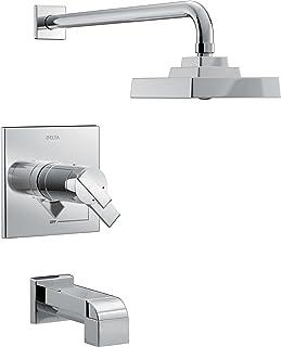 Delta Faucet Delta T17T467 Ara TempAssure 17T Series Tub and Shower Trim, Chrome
