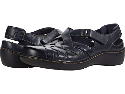 Clarks Cora Dream (Navy Leather) Women