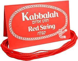 10 pcs Original Kabbalah Red String Protection Bracelet from Evil Eye Blessed in Israel
