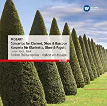 Mozart: Concertos For Clarinet Oboe & Bassoon