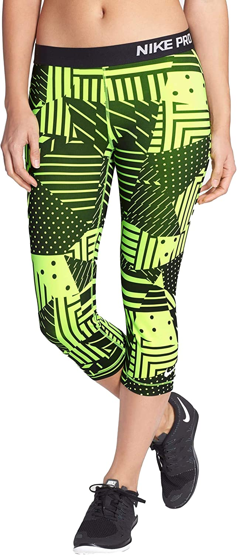Nike Women's Pro 期間限定送料無料 Classic 激安超特価 Capris Patchwork