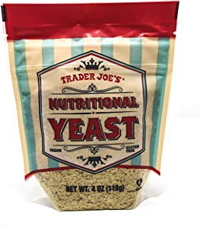 Trader Joe's Nutritional Yeast - Vegan, Gluten-free, 4 Ounce