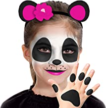 Almar Sales Company INC Panda Makeup Kit for Kids, Halloween Makeup, 8 Pieces