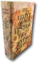 Rare 1961 ~ The Agony and the Ecstasy ~ Irving Stone ~ SIGNED FIRST EDITION