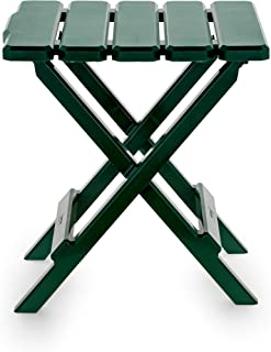 green folding camping table