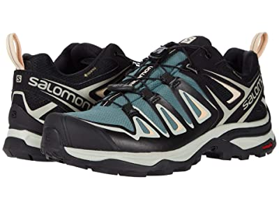 Salomon X Ultra 3 GTX(r) (Balsam Green/Mineral Gray/Bellini) Women