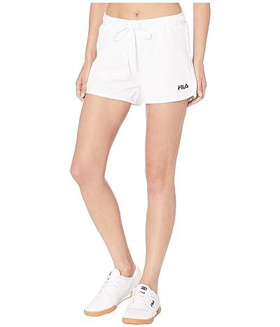 Fila Follie Shorts (White/White) Women