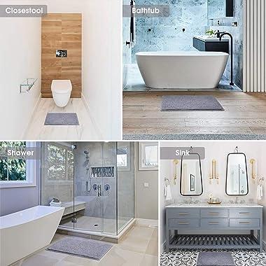 "Wyxy Alfombra de baño Suave, (16""x23) 40x60cm Alfombra de baño Antideslizante Alfombra de baño Absorbente de Agua Lavable"