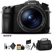 Sony Cyber-Shot DSC-RX10 III Camera DSCRX10M3/B with Soft Bag, Additional Battery, 64GB Memory Card, Card Reader, Plus Ess...