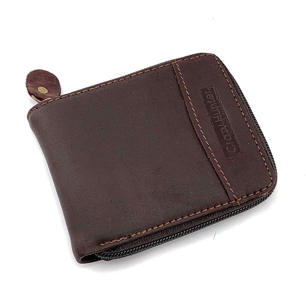 新しい意味ペースト分注するレザーチェーンウォレットバイカー?メンズ 本革の財布 80182