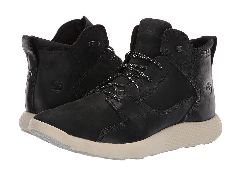 Timberland FlyRoamtm Leather Hiker (Black) Men