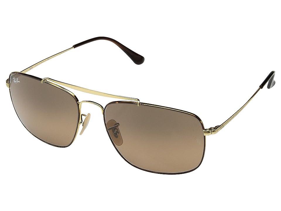 Ray-Ban The Colonel RB3560 61mm (Havana/Grey Gradient) Fashion Sunglasses