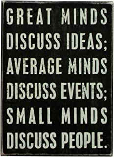 Primitives by Kathy Classic Box Sign, Minds