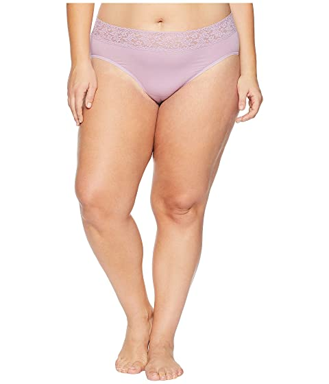 95ba503c1e43 Hanky Panky Plus Size Organic Cotton Signature Lace French Brief at 6pm