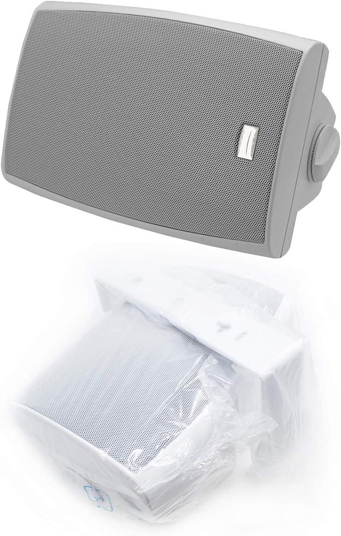 6.5″ 150W 2-Way Surface-Mount Max Over item handling 57% OFF C Speaker Clamp Home Audio Outdoor