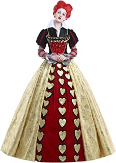 Best queen of hearts ball gown Reviews