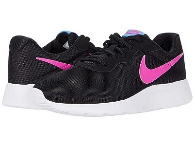 Nike Tanjun (Black/Fire Pink/University Blue/White) Women