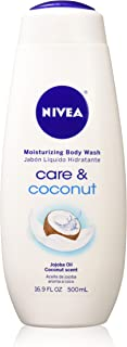 Nivea Body Wash Moist Coc Size 16.9z Nivea Body Wash Moisturizing Coconut 16.9z