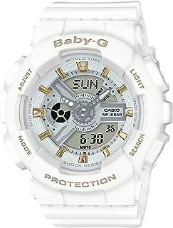 [カシオ] 腕時計 ベビージー BA-110GA-7A1JF ホワイト