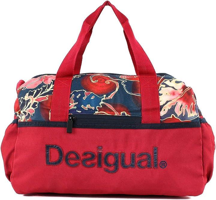 Borsa palestra desigual geopatch gym bag rojo abril B07H9736T3