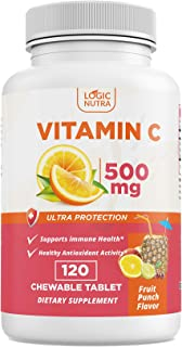 Sponsored Ad - Logic Nutra Vitamin C Chewable Immune System Booster