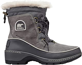 Sorel Women's Tivoli III Boot, Quarry/Cloud Grey, 11 M US