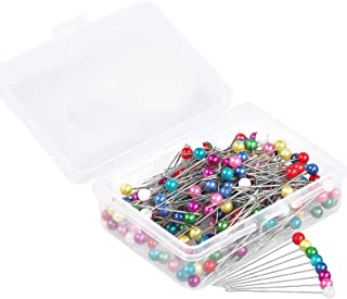 Sewing Pins, 200 PCS Straight Pins 1.6 in Pearlized Ball Head Pins, Sewing Pins for Fabric DIY Sewing Pins Crafts