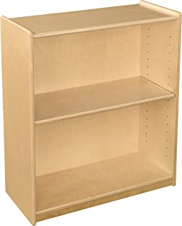 Wood Designs Small Bookcase with Adjustable Shelf