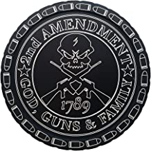 DipLidz Engraved snuff lid God, Guns And Family