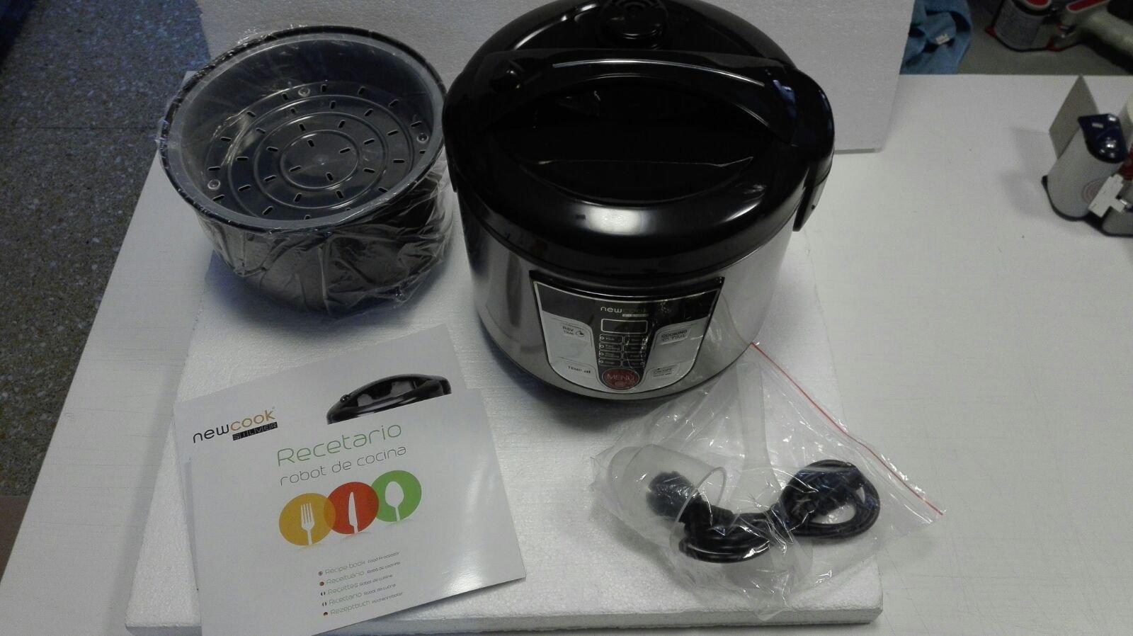Top SHOP Newcook Robot de cocina 5 Lt Potencia 700 W Color Negro bz15: Amazon.es: Hogar