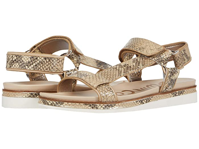 Sam Edelman  Annalise (Wheat Multi/Summer Sand Exotic Snake Print Leather/Bally Premium) Womens Sandals