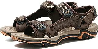 Summer Men Sandals Real Leather NonSplit Soft Comfortable Men Shoes Men Casual Shoes Size 39~45