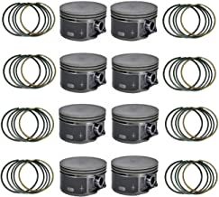 GM 5.3 Flat Top Pistons + Moly rings 1999 2000 2001 2002 2003 2004-3.780 bore (STD)